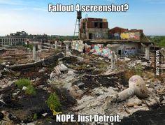 Nah just Detroit ...