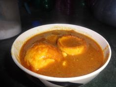 INDIAN CUISINE: EGG CURRY