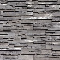 Grey Rundle ProStack Lite Stone Veneer from Environmental StoneWorks Stone Exterior Houses, Exterior House Colors, Stone Houses, Stone Supplier, Stone Texture, Stone Veneer, Light Beige, Building Materials, Curb Appeal