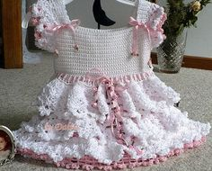 beautiful baby dress crochet pattern - crafts ideas - crafts for kids
