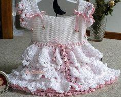 beautiful baby dress crochet pattern - crafts ideas - crafts for kids