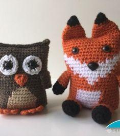 boxy fox and owl