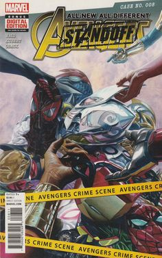 Kobik Pt.12 , Mark Waid Writer ,Adam Kubert Art , Alex Ross Cover Art , _ Trapped in Pleasant Hill, the Avengers can't tell the heroes from the villains, and, worse, they don't even recognize each other! How can the Avengers act like a team when they have no memory of one another? Avengers Stand Off Continues