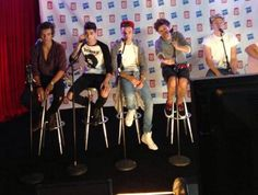 Boys at private show