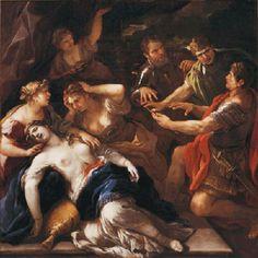 "Museo di Casa Martelli - Firenze - Luca Giordano - ""La morte di Lucrezia"" - 1680-1685"