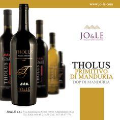 THOLUS PRIMITIVO DI MANDURIA Dop di Manduria. jo-le.com
