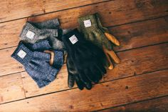 UPSTATE STOCK RAGG WOOL GLOVES | Up There Store