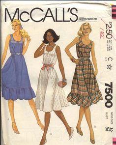 Vintage McCall's 7500