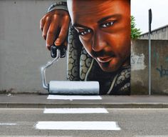 Street Art By Cheone - http://www.theinspiration.com/2015/06/street-art-cheone/