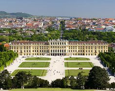 The view of Schonbrunn Castle and Vienna beyond from the Glorietta.  This was just the Hoffburg's summer place!