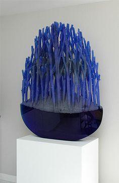 Ivan Mares - Archia, cast glass.