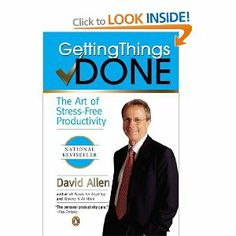 """Getting Things Done: The Art of Stress-Free Productivity"" by David Allen -past and current curriculum reading"