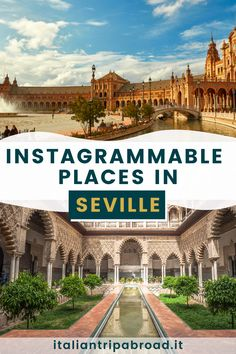 Instagrammable places in Seville, Spain