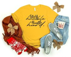 Stay humble T shirt image 0 T Shirt Image, Stay Humble, Hoodies, Sweatshirts, Primary Colors, Graphic Tees, Casual Outfits, Tee Shirts, Inspire