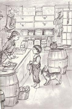 Tasha Tudor's illustration
