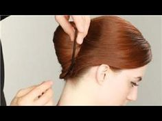 Making a French twist updo doesn't have to be the most difficult thing you try to do all day. Make an easy French twist updo with help from a celebrity hairs. Short Hair Updo, Haircuts For Long Hair, Long Hair Cuts, Easy Hairstyles, Curly Hair Styles, Modern Haircuts, Black Hairstyles, Hairdos, Hairstyle Ideas