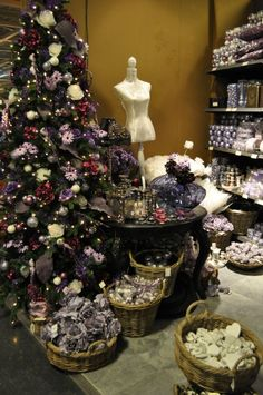 Trends Christmas - Trends kerst 2012: Lila, purple, paars!