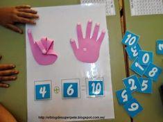 Materiales para trabajar los complementarios del 10 – El Rincón De Aprender