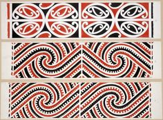 maori raft patterns