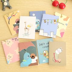 Creative Stationery Cute Cartoon Animals 120K Mini Notebook Diary Book Wholesale Notebook Memorandum Memo Pad #>=#>=#>=#>=#> Click on the pin to check out discount price, color, size, shipping, etc. Save and like it!