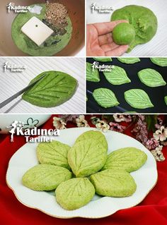 Spinach Nut Cookie Recipe, How To . - Womanly Recipes - Delicious, Practical and Delicious Food Recipes Site - Spinach Nut Cookie Recipe - Savory Donuts Recipe, Donut Recipes, Cookie Recipes, Spinach Health Benefits, Hazelnut Cookies, Yummy Food, Tasty, Recipe Sites, Recipe Recipe