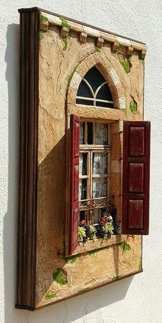 diorama ideas Bananapook: Mind-Blowingly realistic miniatures of Lebanese homes Chawki Yazbeck Miniature Rooms, Miniature Crafts, Miniature Houses, Diy And Crafts, Arts And Crafts, Doll House Crafts, Shadow Box Art, Fairy Doors, Fairy Houses