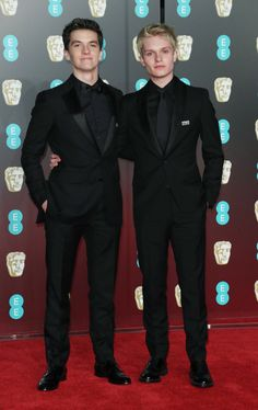 Fionn and Tom Dunkirk Cast, Dunkirk Movie, Barry Keoghan, Fionn Whitehead, Aneurin Barnard, Jack Lowden, Man Crush Monday, Tuxedo For Men, Thomas Brodie Sangster