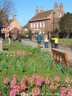 Christchurch, Dorset my home town, I use to eat my Fish & Chips on that bench !!! Lol