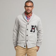 Tommy Hilfiger: I really want a sweater.