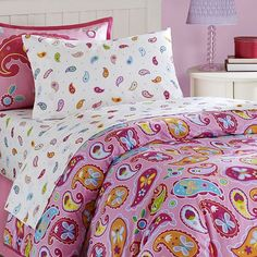 Olive Kids Paisley Dreams Toddler Bedding Coordinates $39.99 love this for Farrah