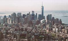 Una vista hacia el sur desde el #empirestatebuilding  #NYC #oneworldtradecenter #manhattan #andresharambour  Más en aharambour.com