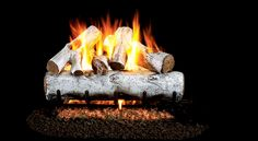 The MBW Mountain Birch Vented Gas Logs by Real Fyre provide a high end gas log set to be used with a gas fire feature. These logs are intended to be used in a vented and approved enclosure with a gas log burner to turn your wood burning fireplace into an Ventless Gas Logs, Gas Fireplace Logs, Fireplace Inserts, Fireplace Ideas, Gas Fireplaces, Fireplace Mantels, Fireplace Update, Electric Fireplaces, Fireplace Shelves