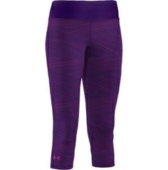 Under Armour Women's Sonic Printed Capri - Dick's Sporting Goods Under Armour Pants, Under Armour Women, Capri, Sweatpants, Running, Printed, Clothes, Fashion, Outfits