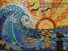 Sunset Wave in Competition | www.themosaicstore.com.au/Mosai… | Flickr