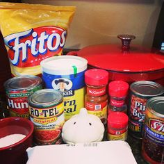 Frito Chili  (Pioneer Woman recipe) -Twins in the Cities