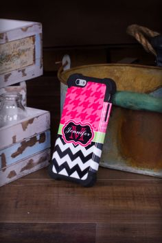 See why our Shock Proof Monogram iPhone Cases are our #1 selling case.