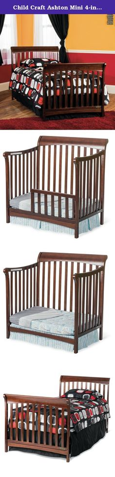 Child Craft Ashton Mini 4-in-1 Convertible Crib. If someone could make a pair of self-tying shoes that grew with your child the way the Child Craft Ashton Mini 4-in-1 Convertible Crib does, we'd put their faces on money. Until then, your little one will sleep soundly in this convertible, 4-way crib and mattress set. It starts as a bassinet, with the mattress up high where you can reach your infant. As they grow, the mattress can be lowered into a standard crib position, and then by...