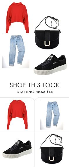"""""""casual"""" by jenny366 ❤ liked on Polyvore featuring TIBI, Puma and A.P.C."""