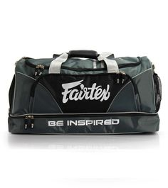BAG2 Fairtex Gym Bag - Gray-Black