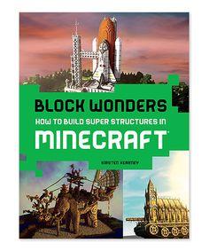 Minecraft Block Wonders Paperback by Minecraft #zulily #zulilyfinds