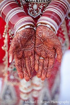 A look at Indian bridal mehndi.