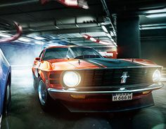 """Check out new work on my @Behance portfolio: """"MUSTANG"""" http://on.be.net/1rWISfP"""