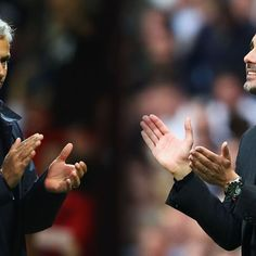 Mourinho and Guardiola in Old Trafford summit meeting for United vs. City