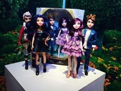 Dolls to accompany the Disney Channel's new Decendants show will debut this Summer. The characters are the teenage children of Disney's heroes and villains.                   Source: POPSUGAR Photography