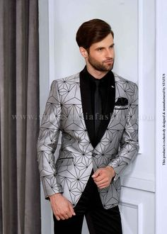 Mens Designer Suit Wedding Groom Suits Blazer Fashion