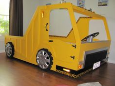 Dump truck bed by Reichowcollection on Etsy. Bo would die for one of these.