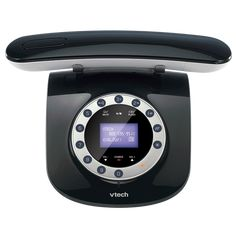 High tech phone with retro styling from VTech