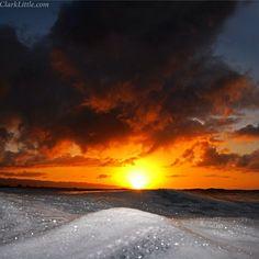 #hawaii #sunset #kaenapoint ☀ #clarklittle Nikon d300/sb800 flash #Padgram