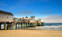 The Old Orchard Beach Pier...