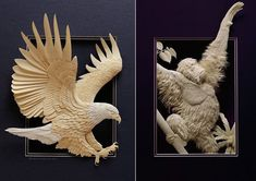 Absolutely amazing. All made from paper - works of extreme talent and patience. See more at: http://www.calvinnicholls.com/